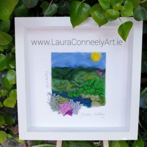 textile art irish artist countryside ireland